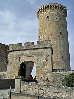 El Castillo de Bellver en Mallorca