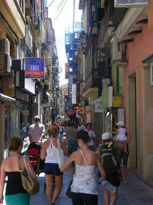 calle comercial de Palma es un caos absoluto